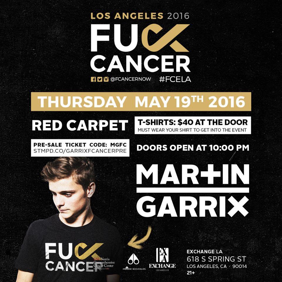 Martin Garrix Kanser ile savaş konseri !